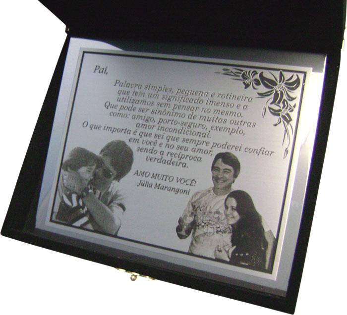 Placas de homenagem pessoal